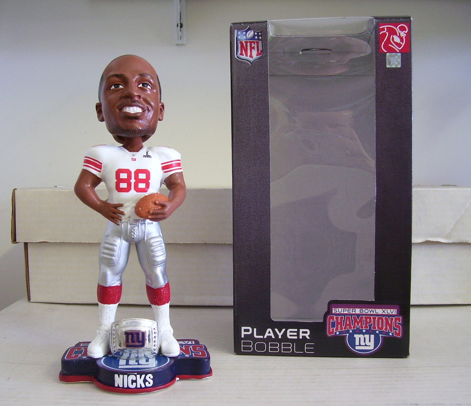 Hakeem Nicks Bobblehead - BobblesGalore