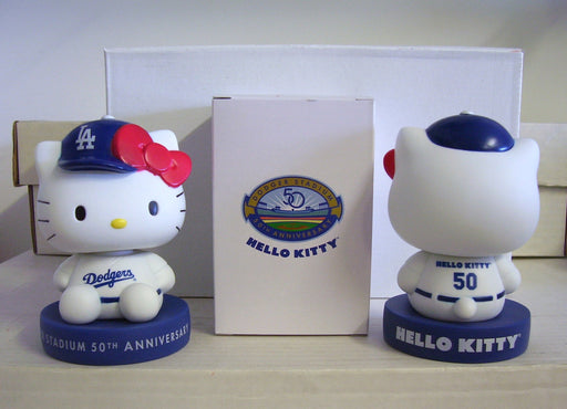 Hello Kitty Dodgers Bobblehead - BobblesGalore