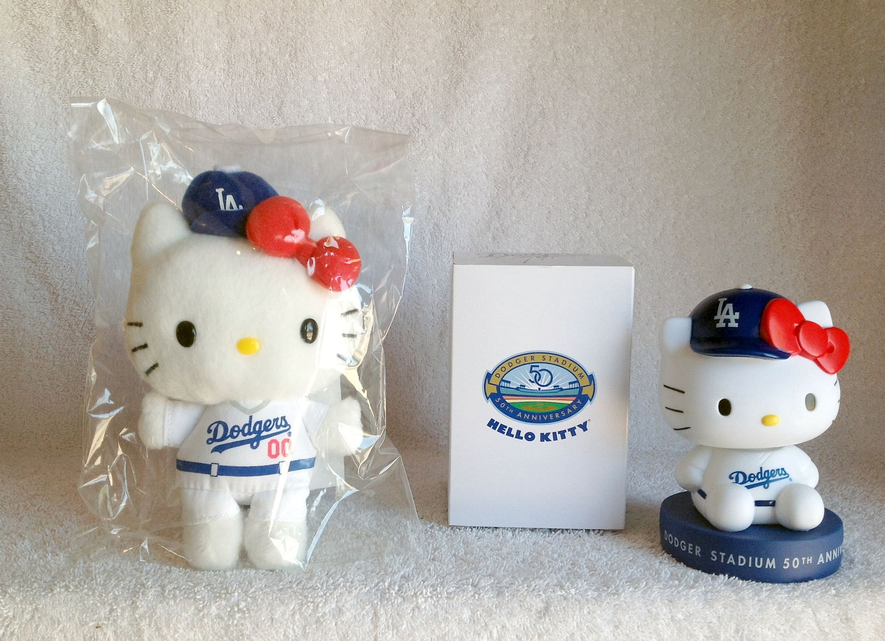 Hello Kitty Bobblehead and Plush Doll - BobblesGalore