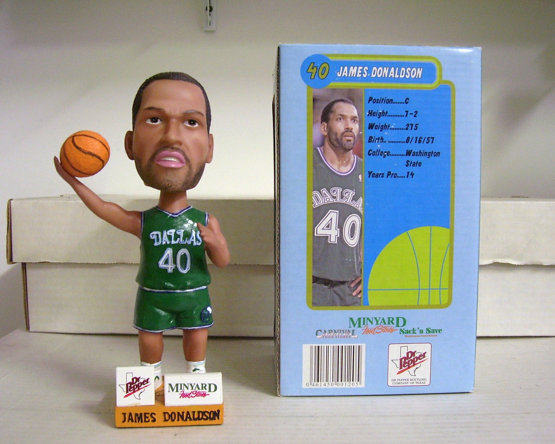 James Donaldson Bobblehead - BobblesGalore