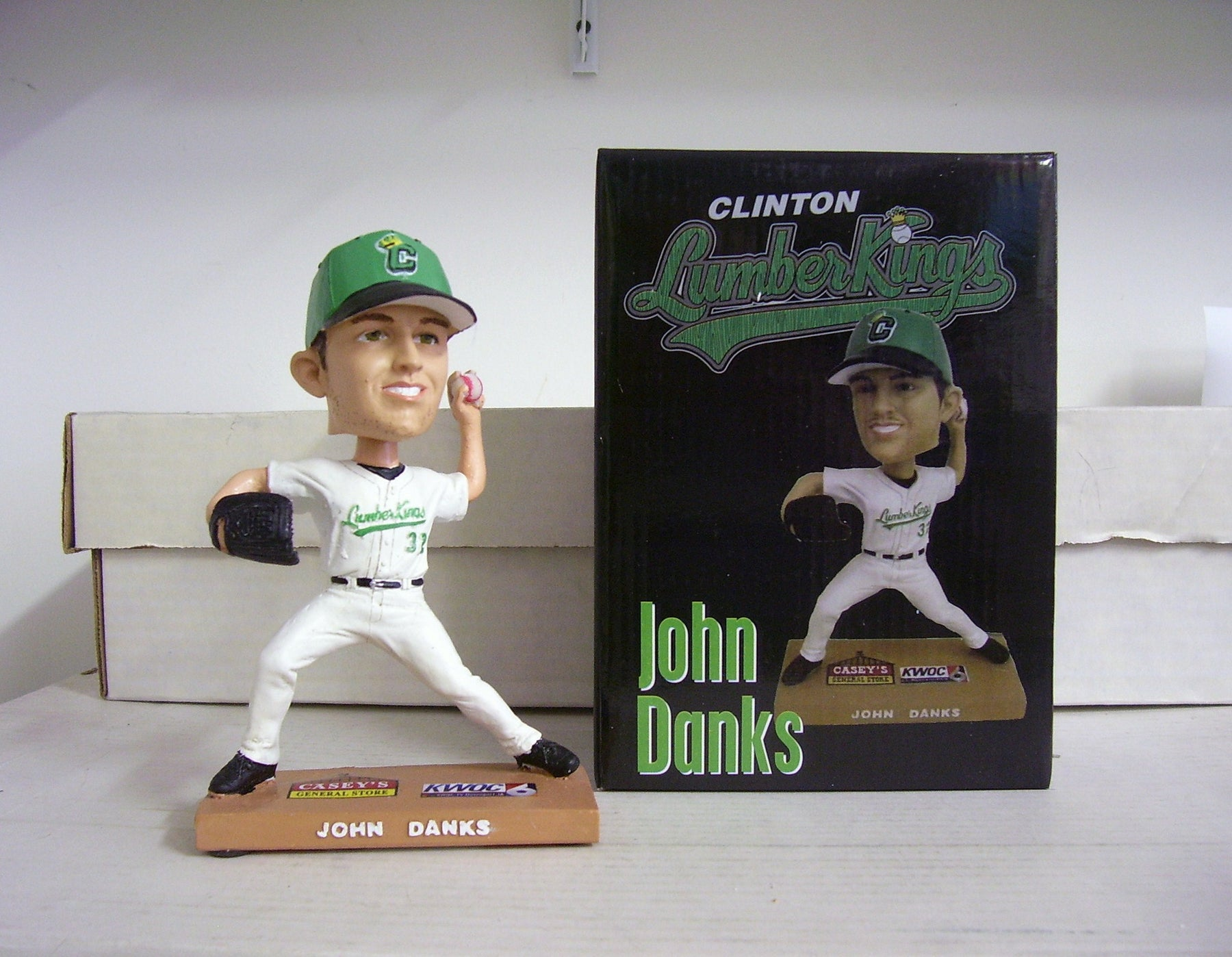 John Danks Clinton White Sox Bobblehead - BobblesGalore