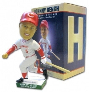 Johnny Bench H Bobblehead