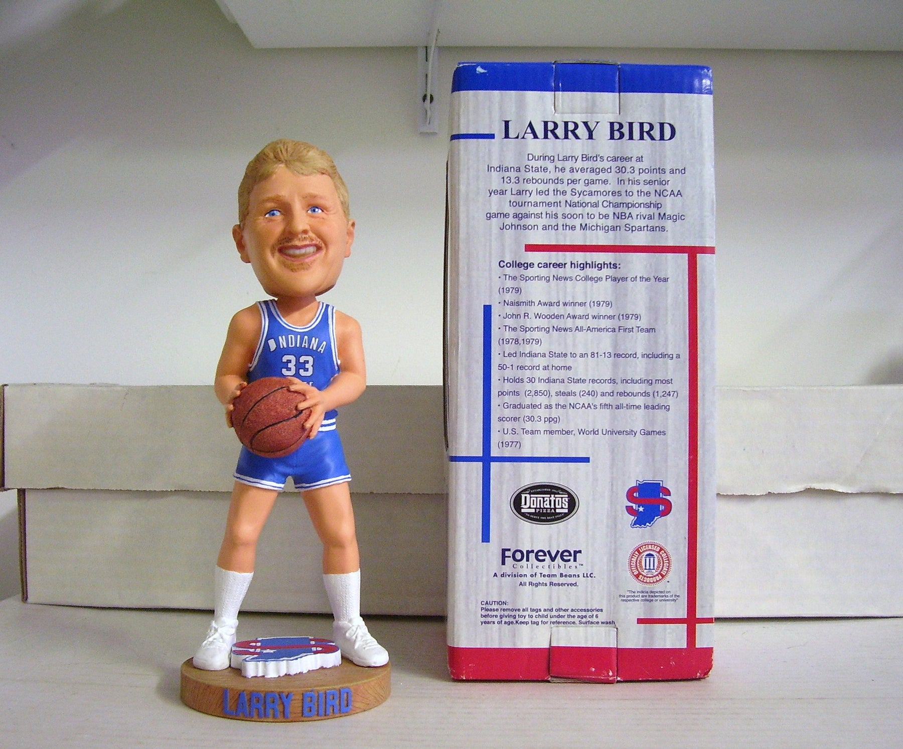 Larry Bird Bobblehead - BobblesGalore