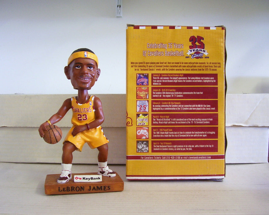 Lebron James Bobblehead - BobblesGalore