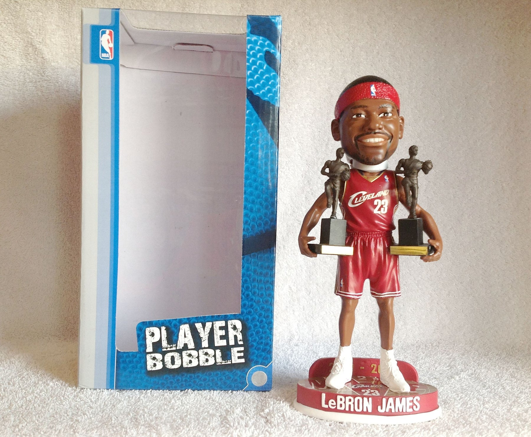 Lebron James Red Bobblehead - BobblesGalore