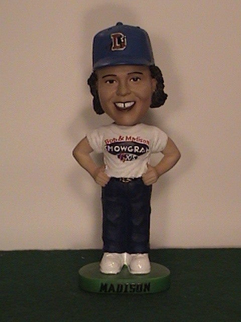 Madison Showgram from Bob and Madison Bobblehead - BobblesGalore