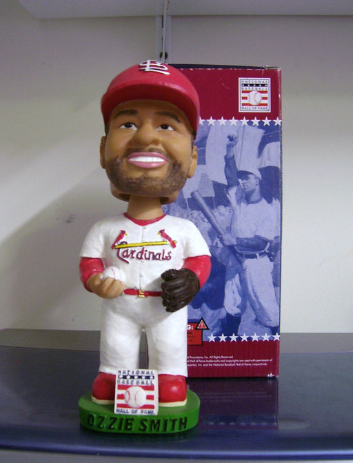Ozzie Smith St. Louis Cardinals Bobblehead - BobblesGalore