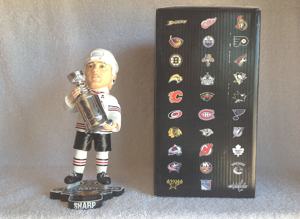 Patrick Sharp Bobblehead - BobblesGalore