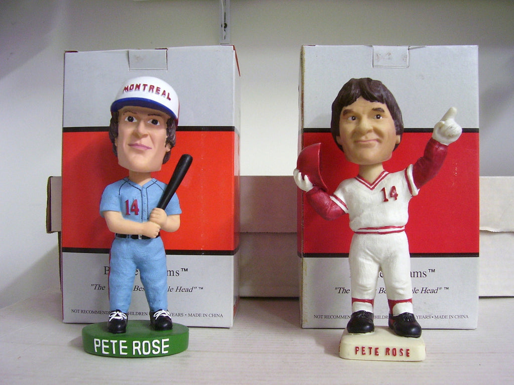 Pete Rose Bobblehead Set