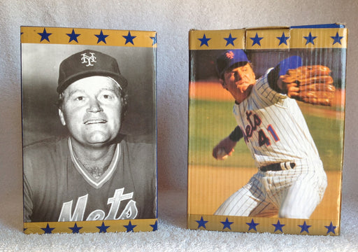 Rusty Staub and Tom Seaver Mets Bobblehead Set - BobblesGalore