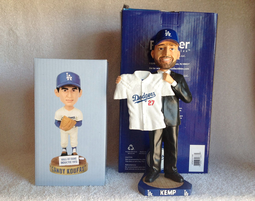 Sandy Koufax and Matt Kemp Bobblehead Set - BobblesGalore