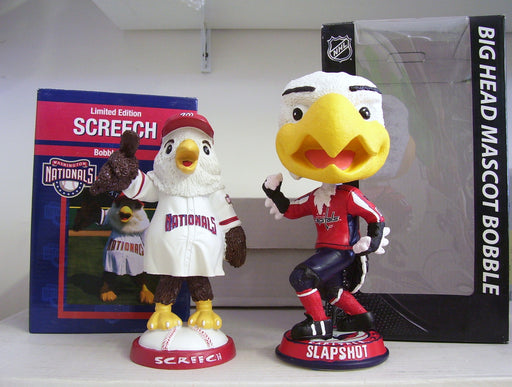 Slapshot and Screech Bobblehead Set - BobblesGalore
