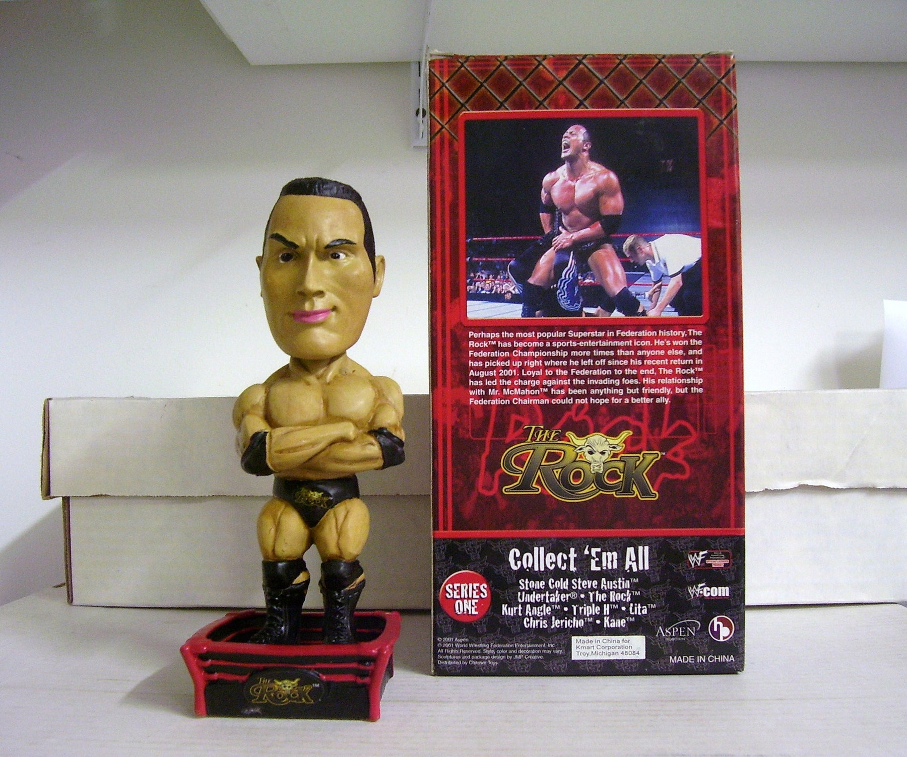 The Rock Bobblehead - BobblesGalore