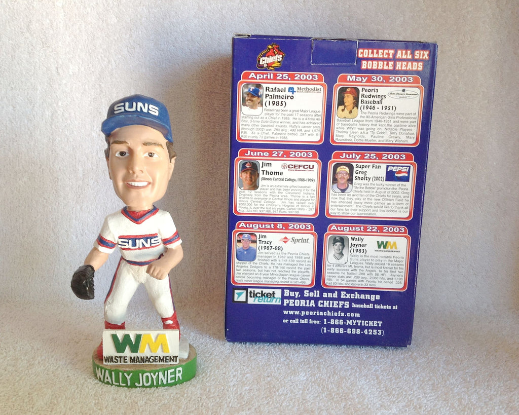 Wally Joyner Bobblehead - BobblesGalore