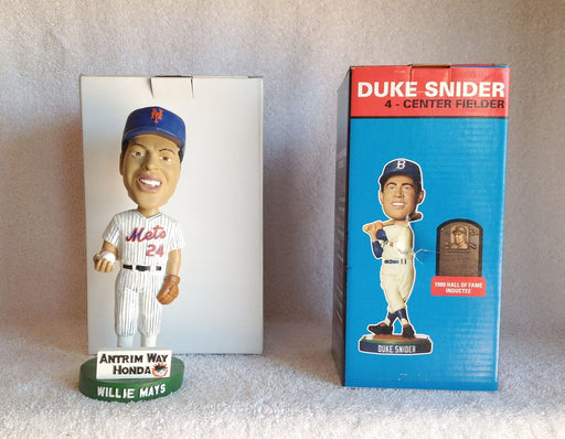 Willie Mays and Duke Snider Bobblehead Set - BobblesGalore