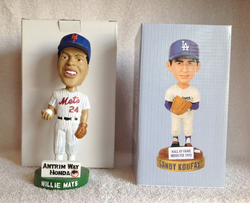 Willie Mays and Sandy Koufax Bobblehead - BobblesGalore