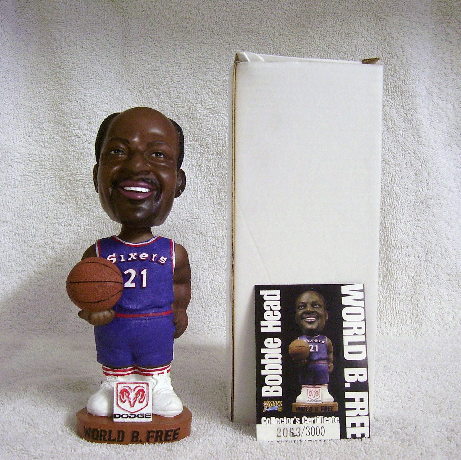 Lloyd World B. Free Bobblehead - BobblesGalore