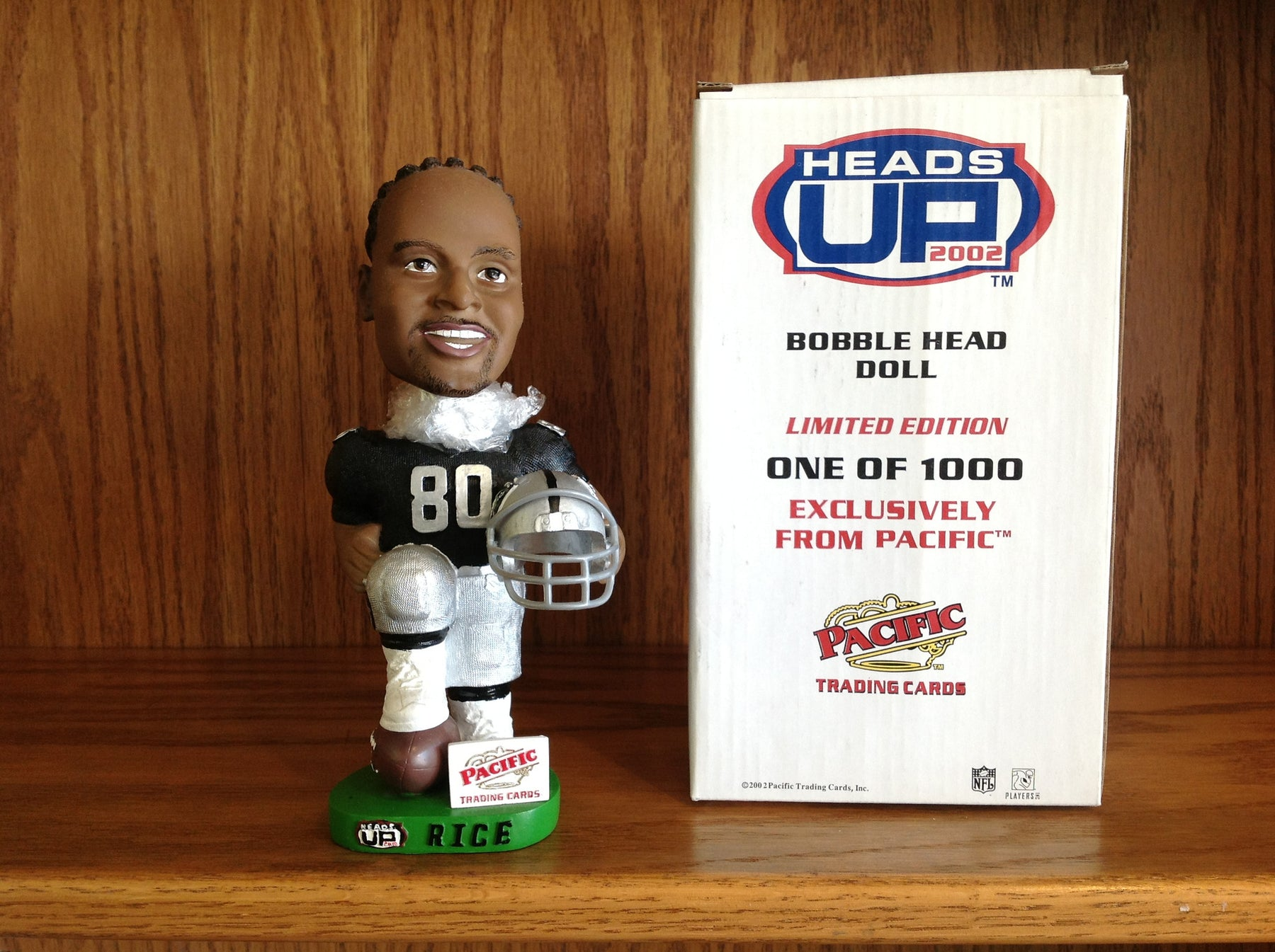 Jerry Rice Bobblehead - BobblesGalore