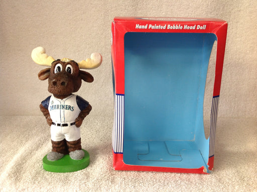 Seattle Mariners Moose the Mascot Bobblehead - BobblesGalore