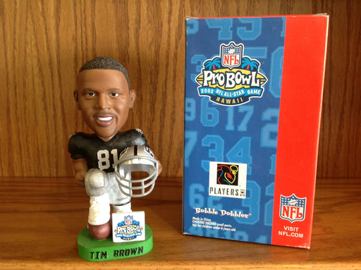 Tim Brown Bobblehead - BobblesGalore