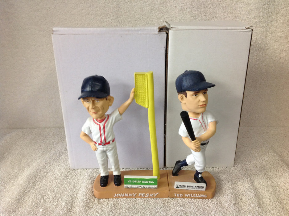 Ted Williams and Johnny Pesky Bobblehead Set - BobblesGalore