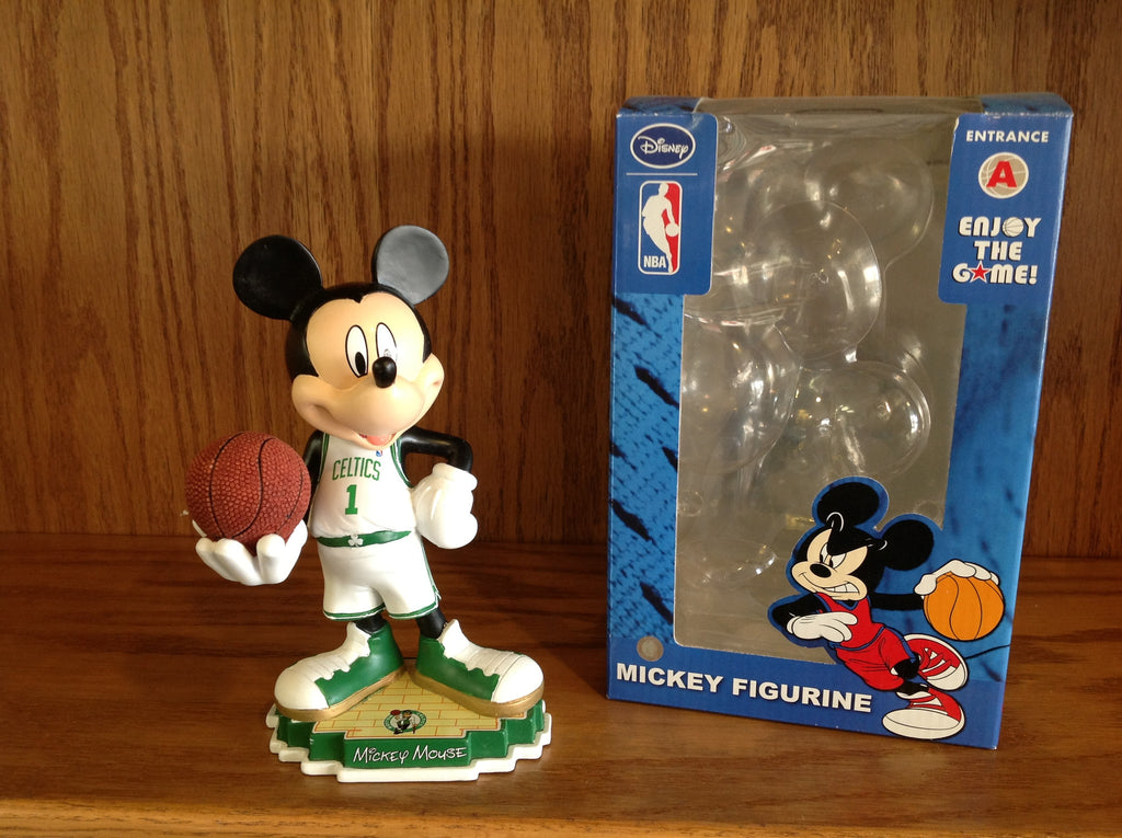 Mickey Mouse Boston Celtics Statue Figure - BobblesGalore