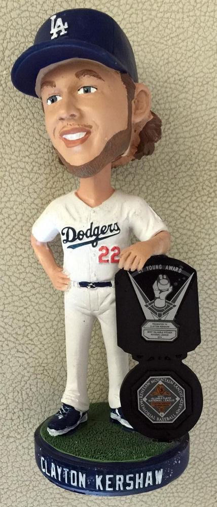 2015 Clayton Kershaw SGA 2015 Cy Young & MVP Los Angeles Dodgers Bobblehead