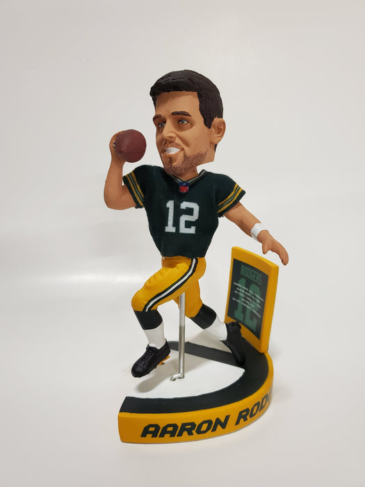 Green Bay Packers Triple Bobblehead Puzzle Set - Bart Starr, Brett Favre and Aaron Rodgers