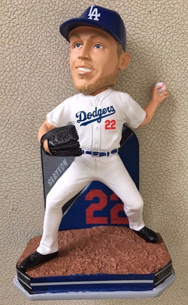 Clayton Kershaw Los Angeles Dodgers FoCo - Name Number (2016) Bobblehead MLB