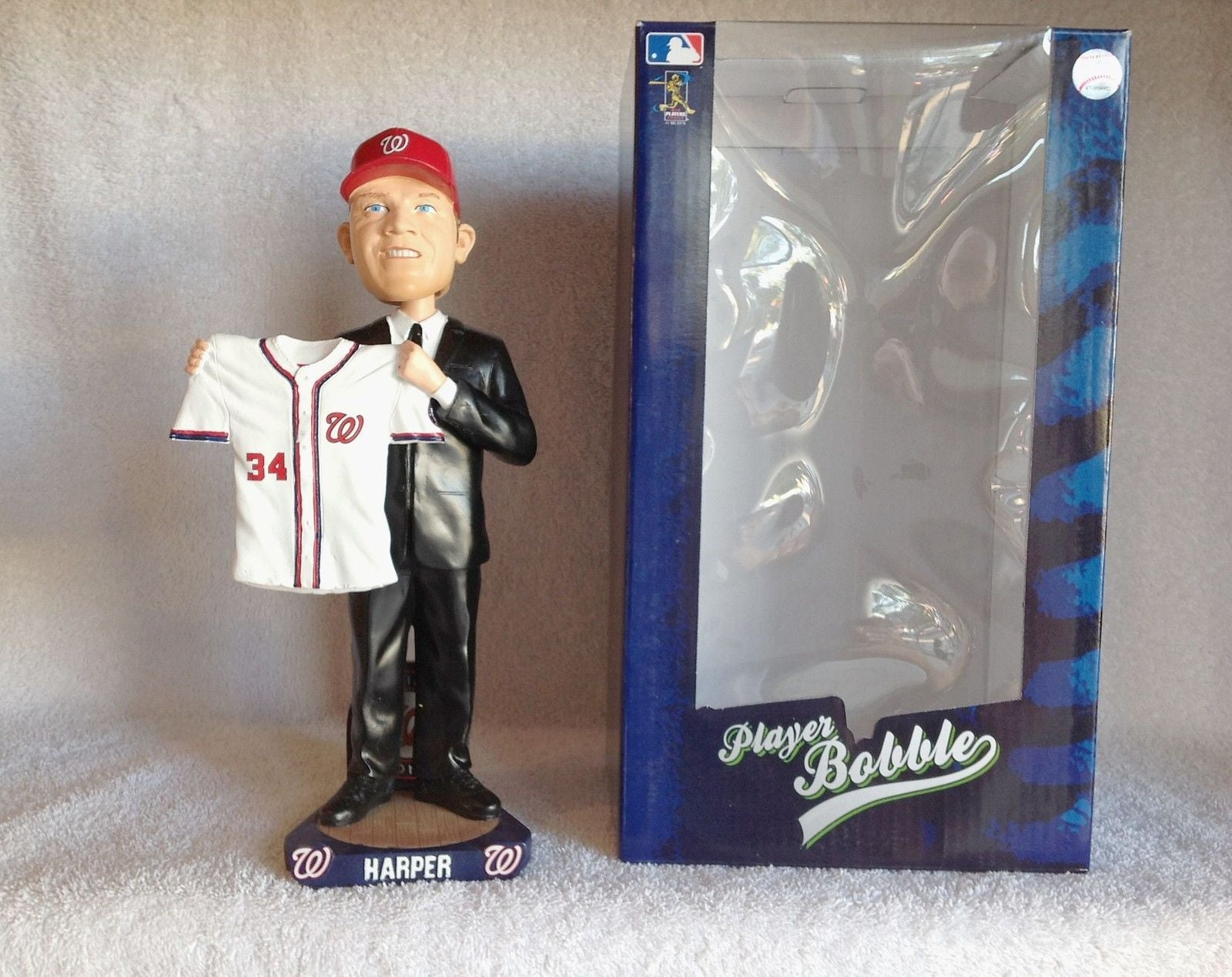Bryce Harper 2010 Draft Day Bobble Forever CO Washington Nationals Bobblehead
