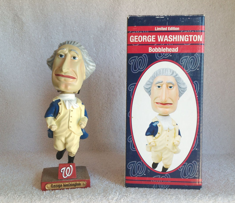 George Washington Washington Nationals bobble SGA Bobblehead