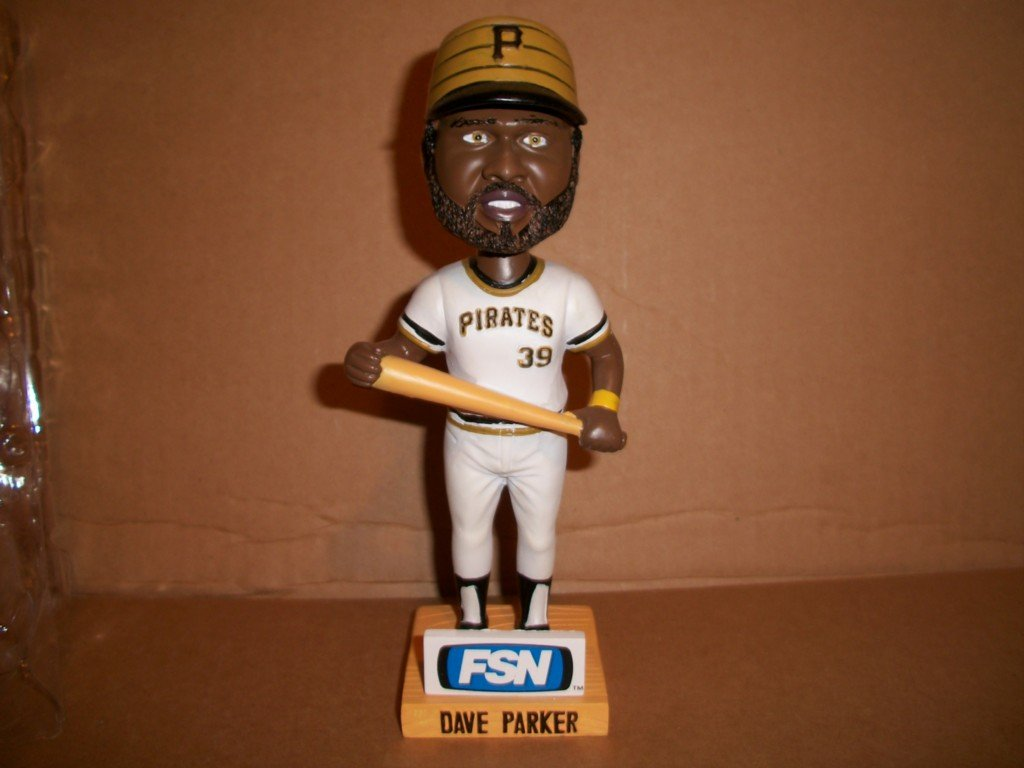 Dave Parker Pittsburgh Pirates Lumber Company Bobl Pittsburgh Pirates Bobblehead