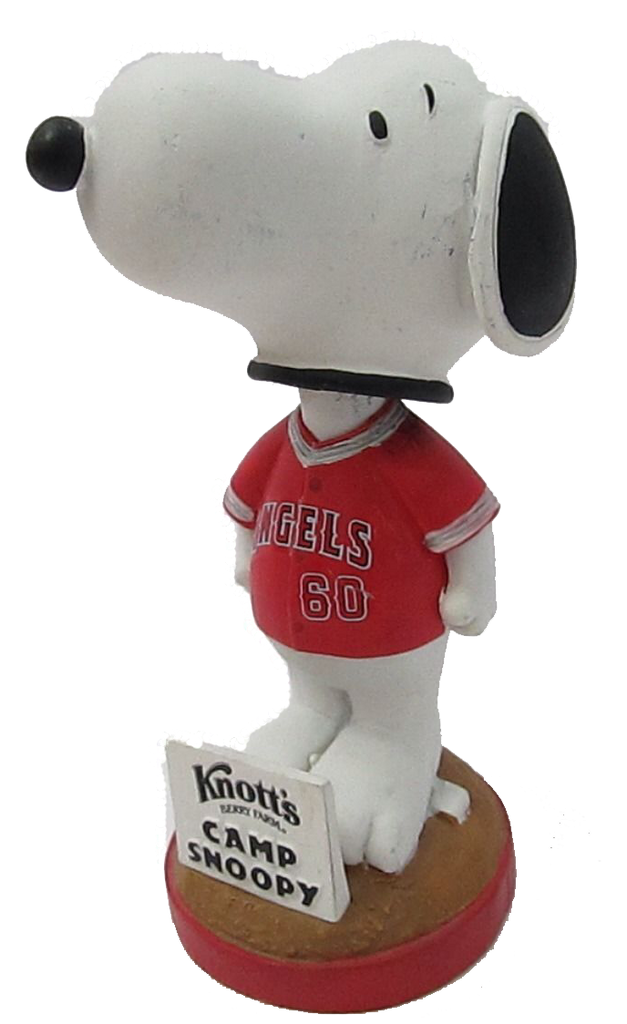 Camp Snoopy California Angels Bobble 2010 SGA Los Angeles Angels Bobblehead
