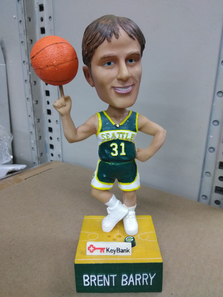 Brent Barry Seattle Supersonics  Bobblehead NBA