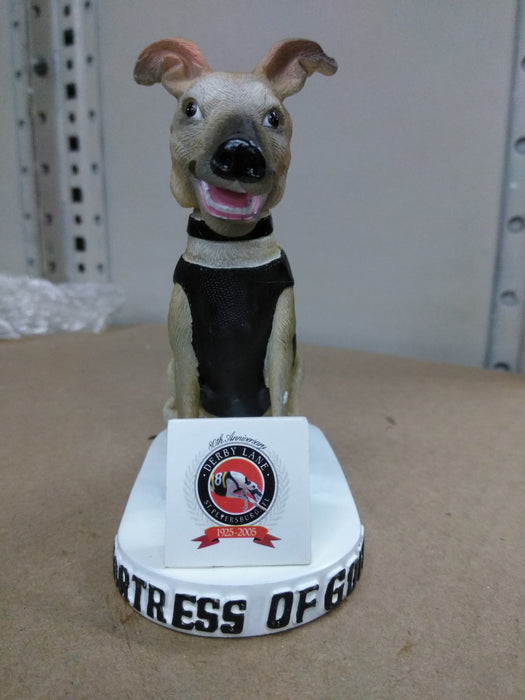 Fortress Of Gold Derby Lane Dog Bobblehead