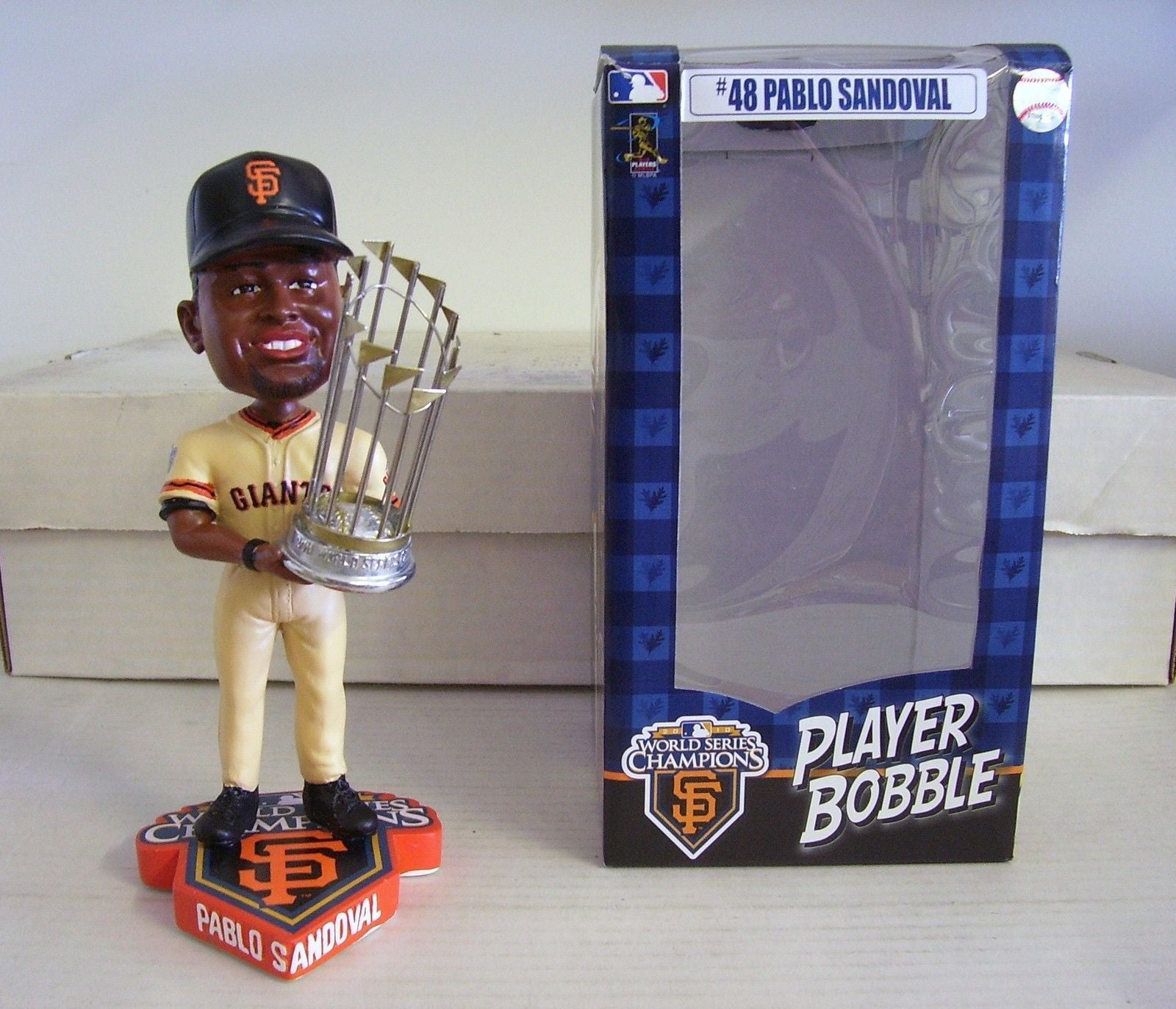 Pablo Sandoval SF Giants 2010 World Series Champ San Francisco Giants Bobblehead