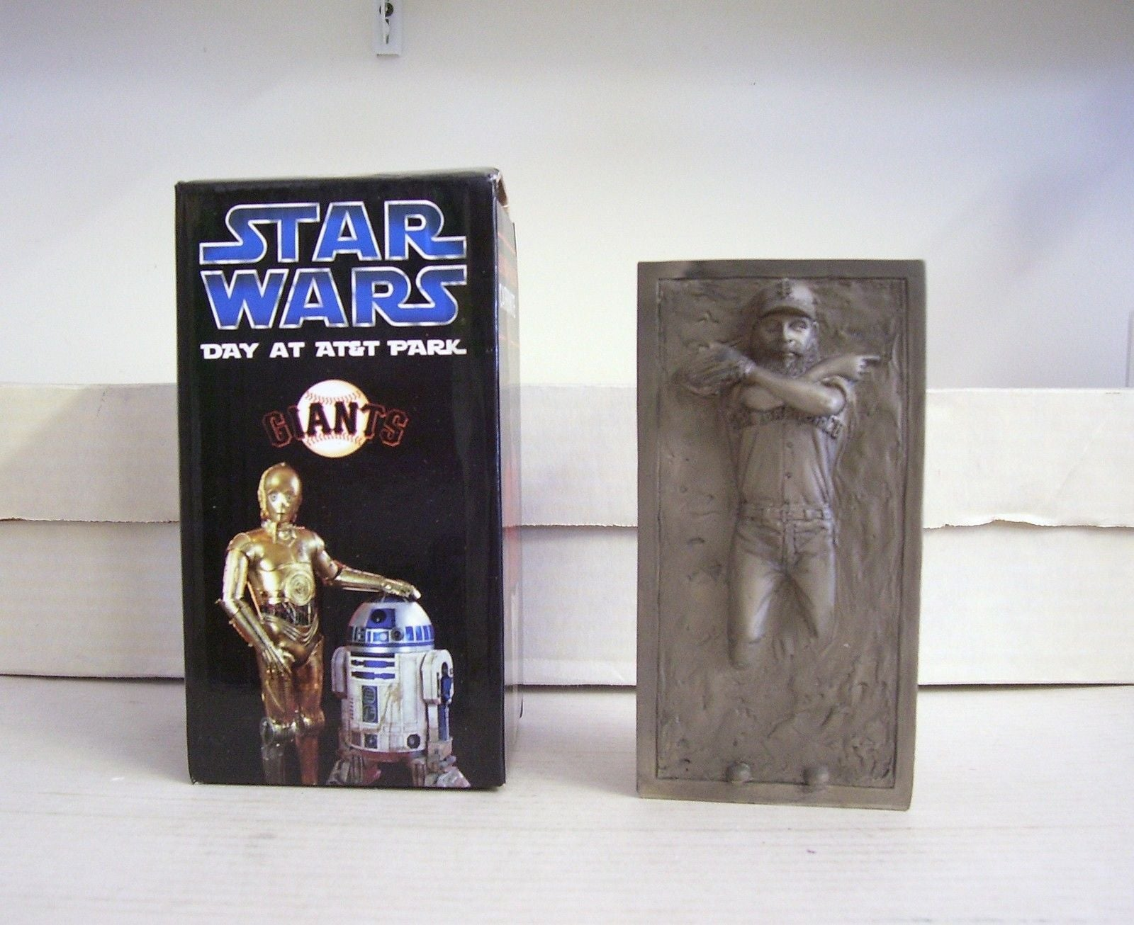 Brian Wilson Han Solo Carbonite Star Wars Statue San Francisco Giants Bobblehead