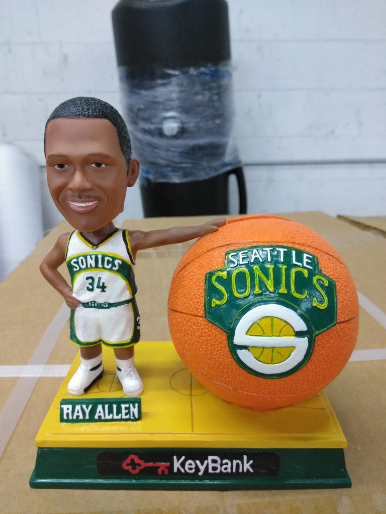 Ray Allen Seattle Supersonics  Bank NBA