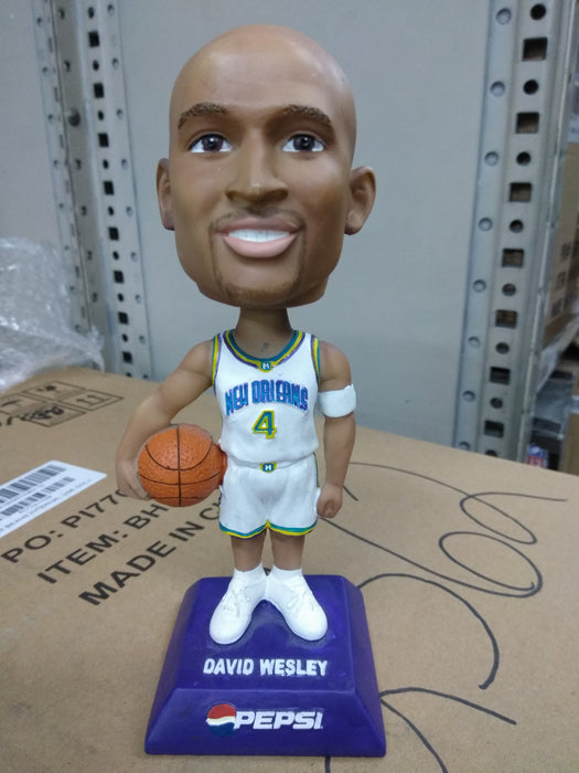 David Wesley New Orleans Hornets  Bobblehead NBA