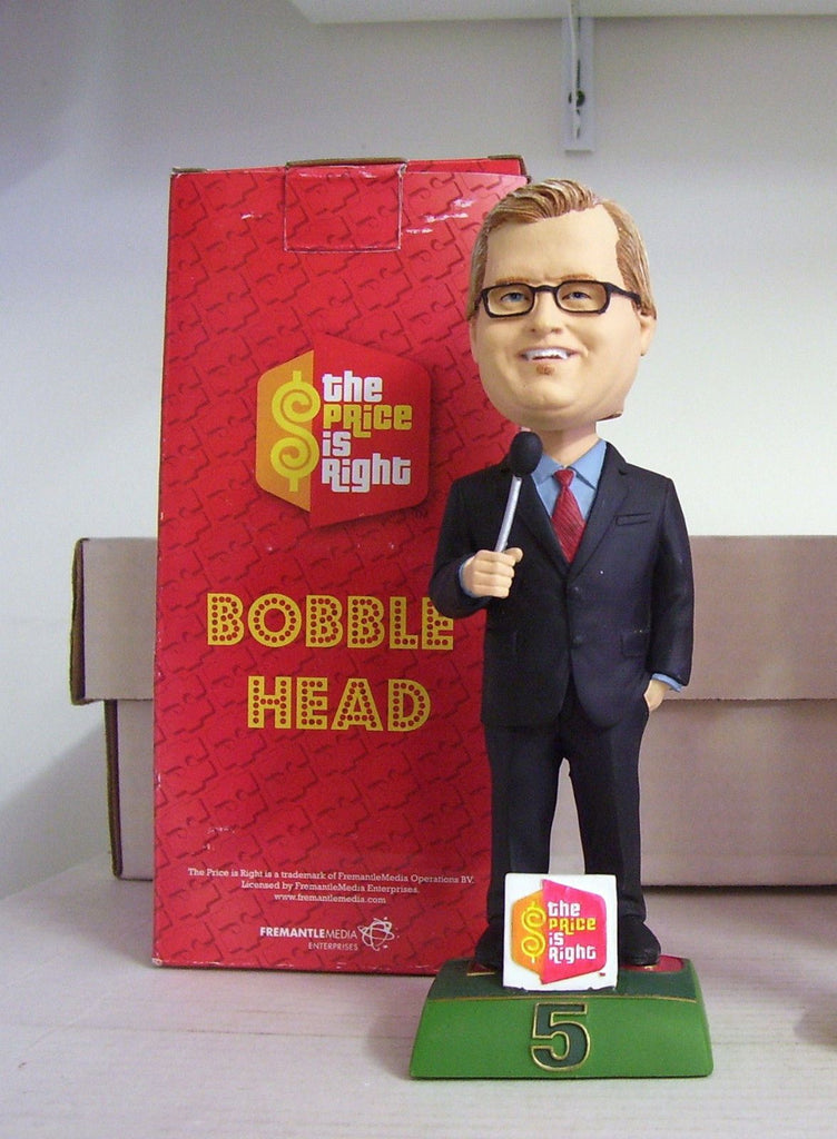 "Drew Carey ""The Price is Right"" 2010 TV Bobble SGA  Bobblehead"