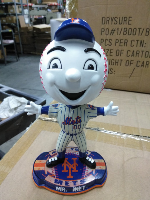 Mr. Met New York Mets Mascot Bobble FOCO 2012 Bobblehead
