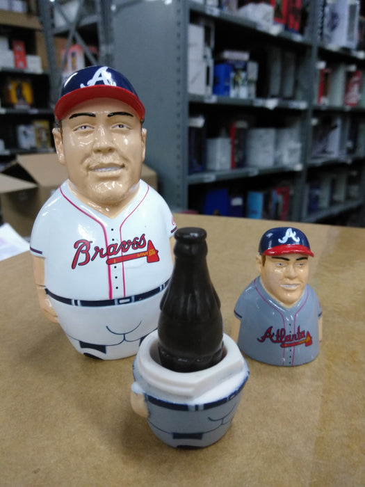Chipper Jones Atlanta Braves  Egg Statue MLB