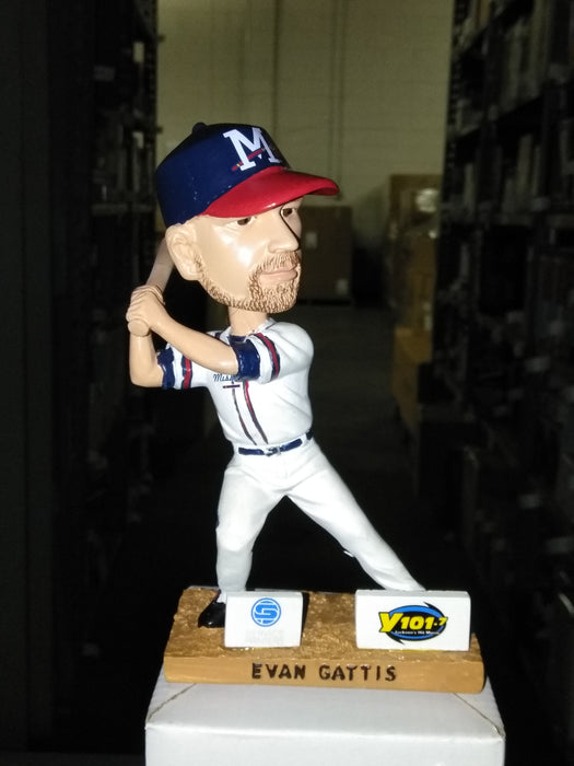 Evan Gattis Mississippi Braves Atlanta Bobble SGA Mississippi Braves Bobblehead
