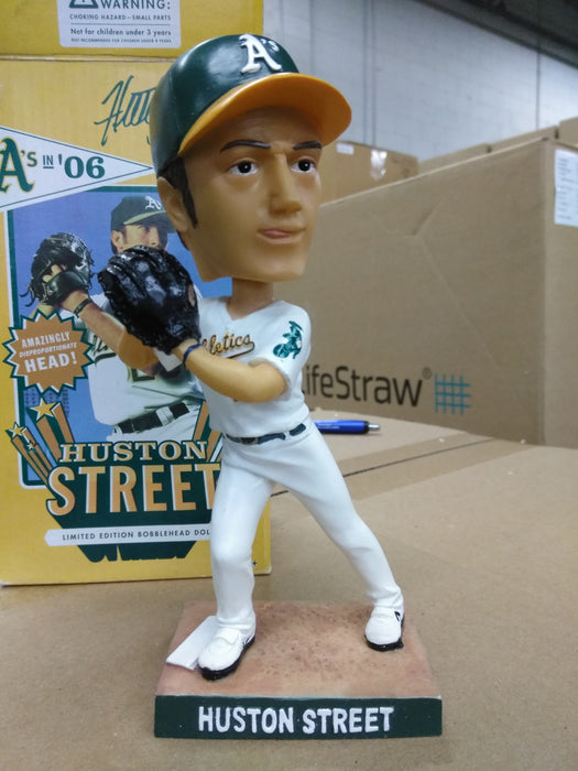 Huston Street Oakland A's Athletics SGA 2006 White Bobblehead