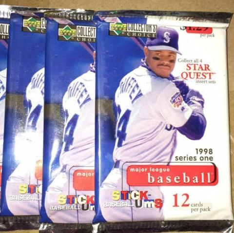 Collectors Choice Baseball Cards 1998 Upper Deck Sports Cards Mlb