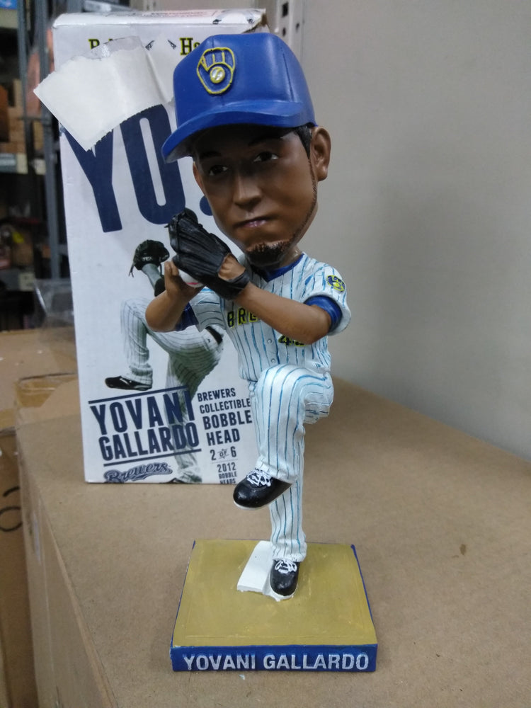 Yovani Gallardo Milwaukee Brewers  Bobblehead MLB