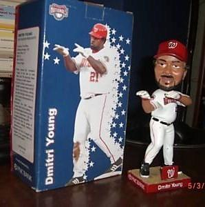 Dmitri Young Washington Nationals SGA Bobblehead Washington Nationals Bobblehead