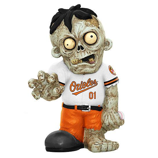 Baltimore Orioles Decaying Zombie 2013 Statue Baltimore Orioles Bobblehead