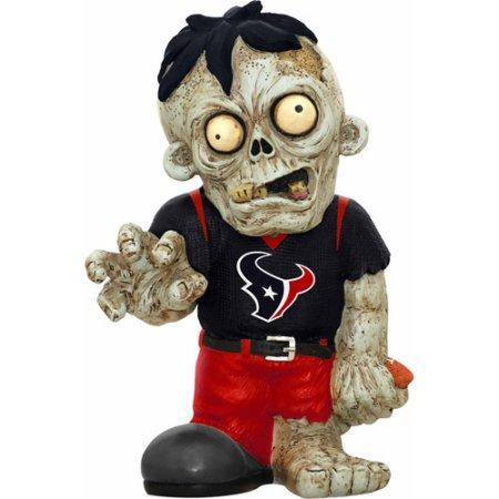 Houston Texans Zombie Purple Shirt FOCO Statue Bobblehead