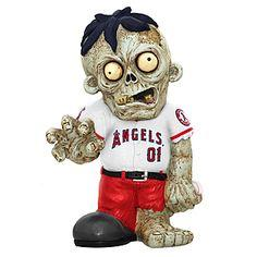 Los Angeles Angels Zombie in Angels Uniform Los Angeles Angels Bobblehead